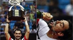 Tennis: Fognini conquista il Brazil Open, Jarry sconfitto in finale