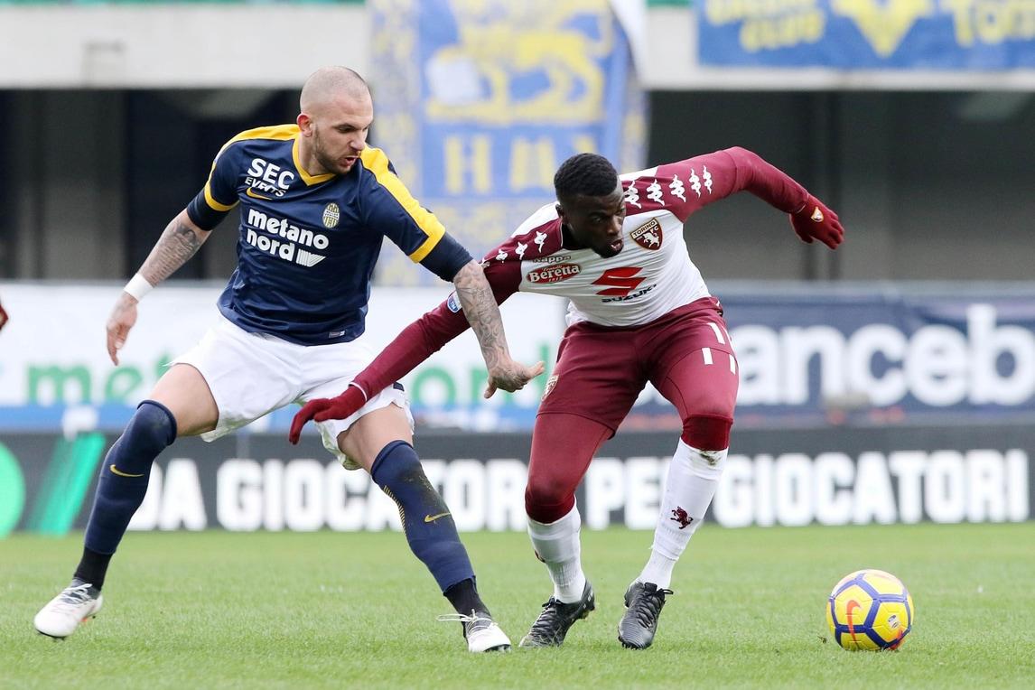 Serie A Torino, botta Niang: contusione al naso