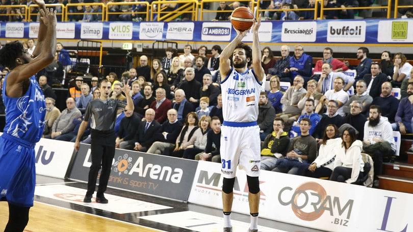 Brescia mette ko Brindisi e arpiona il terzo posto