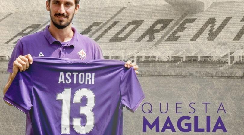 Davide Astori, Fiorentina e Cagliari ritirano la maglia numero 13