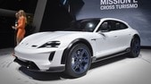 Porsche Mission E Cross Turismo, avventure green