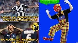 Dani Alves, social impietosi: «Non dovevi vincere la Champions?»