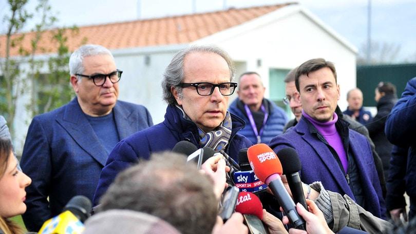 Serie A Fiorentina, Astori: Andrea Della Valle con la squadra, poi alla camera ardente