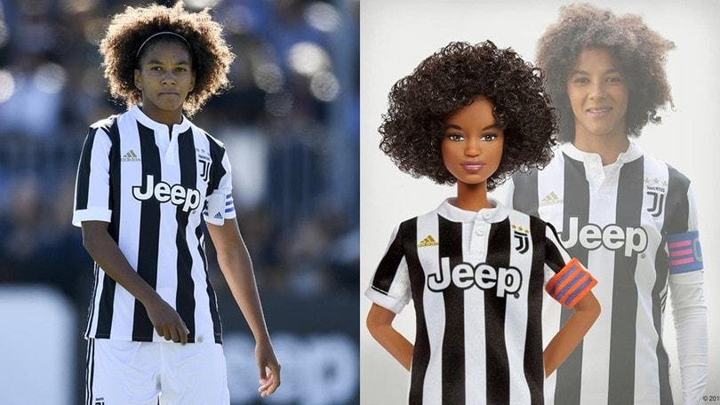 Juventus, una Barbie ispirata a Sara Gama