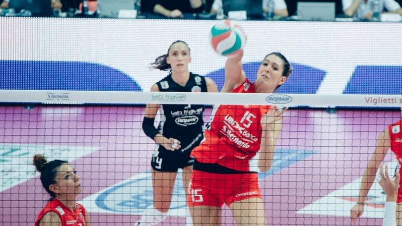 Volley: A2 Femminile, Mondovì si ferma, Battistelli ko, risalgono Cuneo e Brescia
