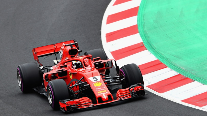 F1, test Barcellona: Vettel mostra i muscoli