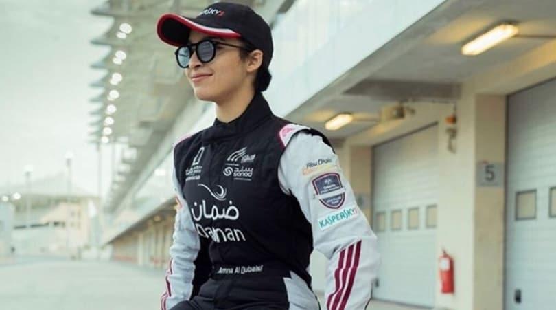 Formula 4, l'8 Marzo di Amna Al Qubaisi