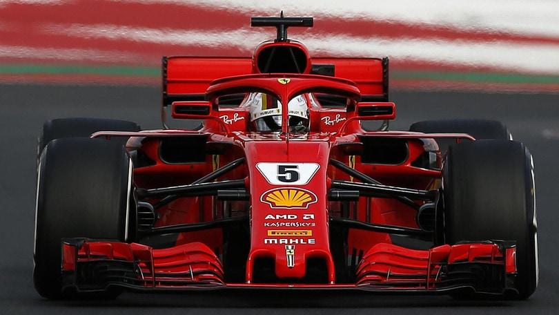 F1, test Barcellona: Vettel imprendibile per tutti