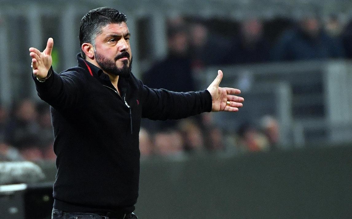 Milan, Gattuso: «Non andremo a Londra in gita»