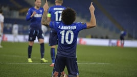 Europa League, non bastano Immobile e Felipe Anderson: la Dinamo Kiev strappa il pari alla Lazio