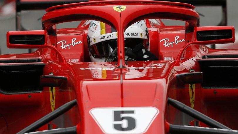 F1 Ferrari, Vettel: «I tempi fatti ora significano poco»