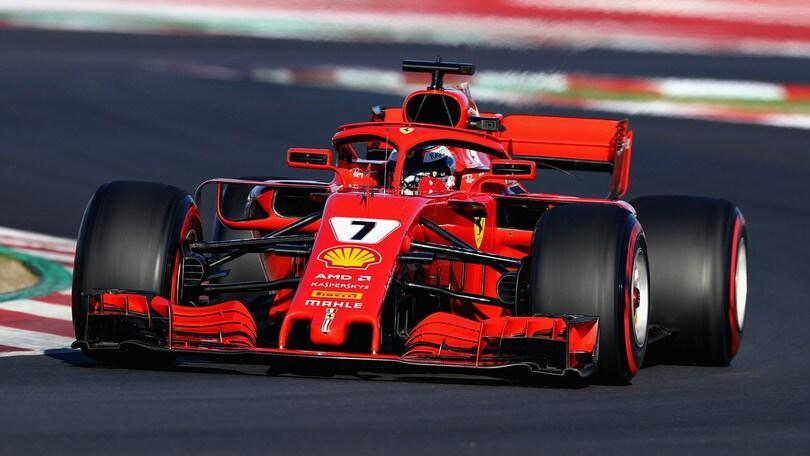 F1, test Barcellona: Raikkonen è primo