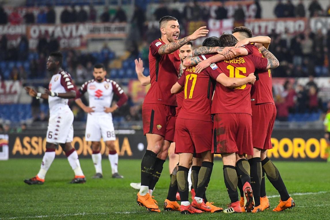 Serie A, Roma-Torino 3-0: Manolas, De Rossi e Pellegrini regalano i tre punti