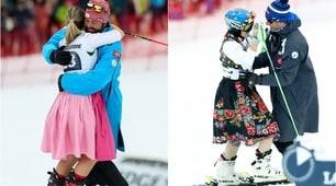 Audi Fis Ski World Cup, la Kirchgasser e la Zuzulova festeggiano così...