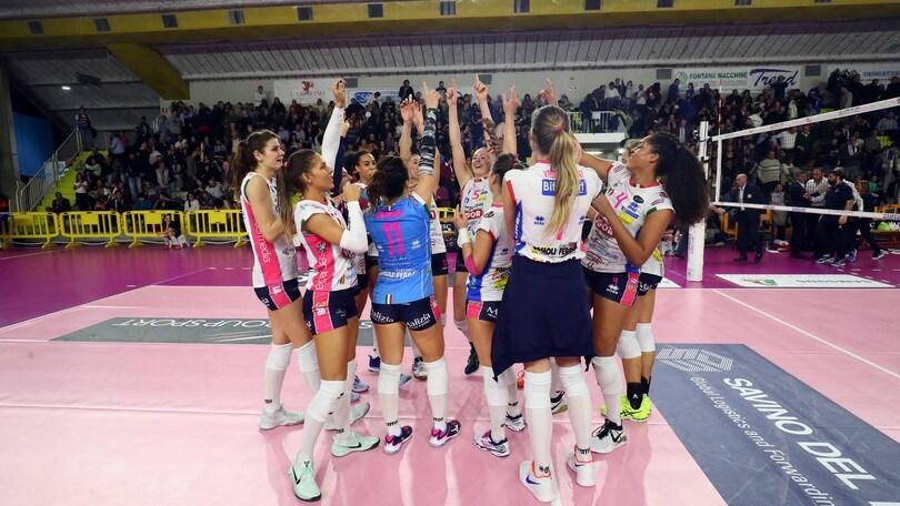 Volley: A1 Femminile, Novara vince la Regular Season, Conegliano ko a Pesaro