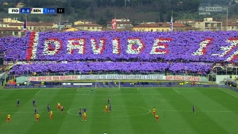 Astori: Fiorentina-Benevento,stop al 13'