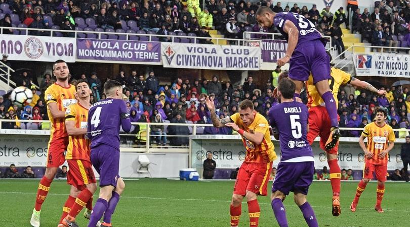 Fiorentina-Benevento 1-0: Vitor Hugo nel segno di Astori