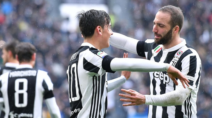 Juventus-Udinese 2-0, Dybala straripante: 11° successo di fila per Allegri