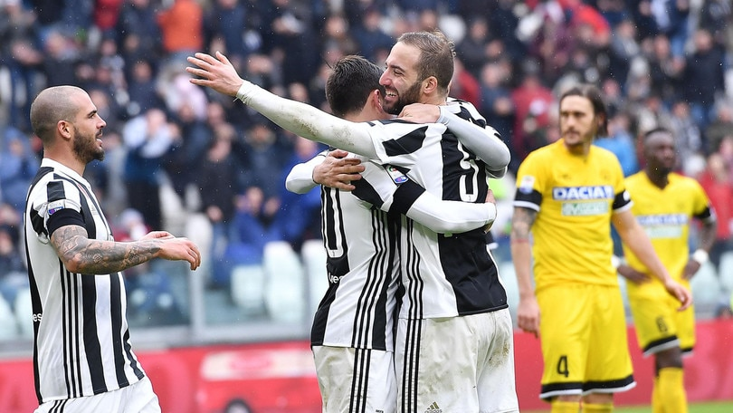 Serie A Juventus-Udinese 2-0, il tabellino