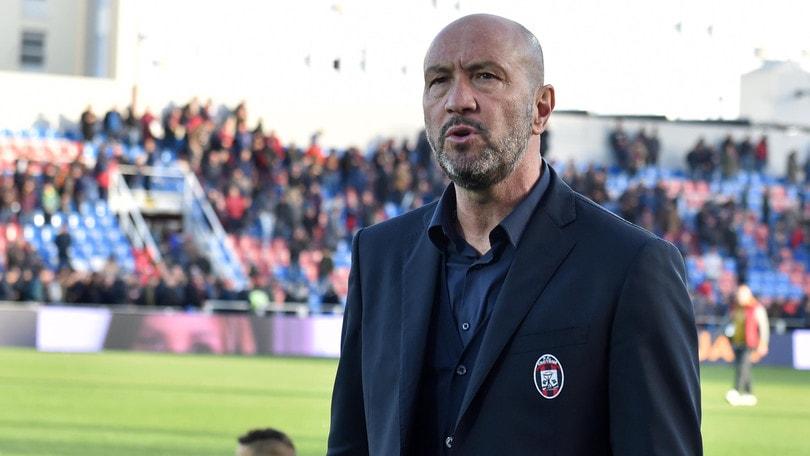 Serie A Crotone, Zenga: «Con la Roma senza timori reverenziali»
