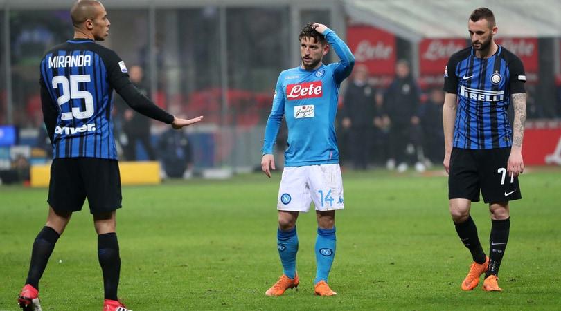 Serie A, Inter-Napoli 0-0: la Juventus è la nuova capolista