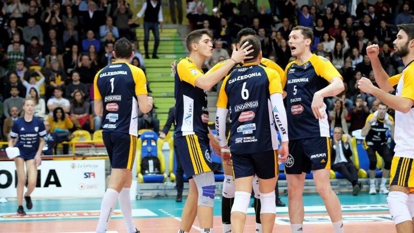 Volley: Cev Cup, la Calzedonia aspetta il Ziraat Bankasi di Antonov