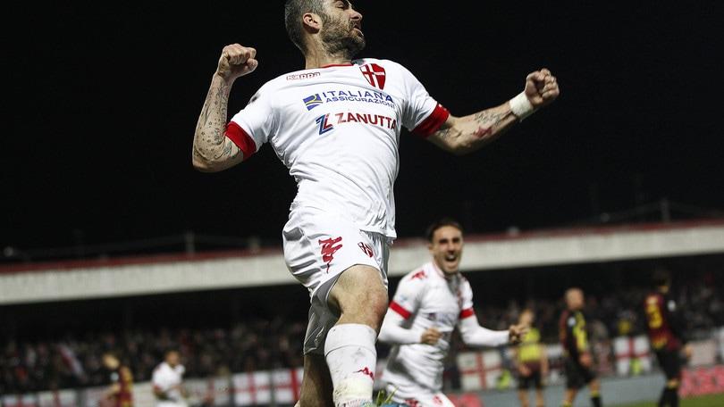 Serie C Bassano-Padova 1-2, decidono Ravanelli e Pulzetti