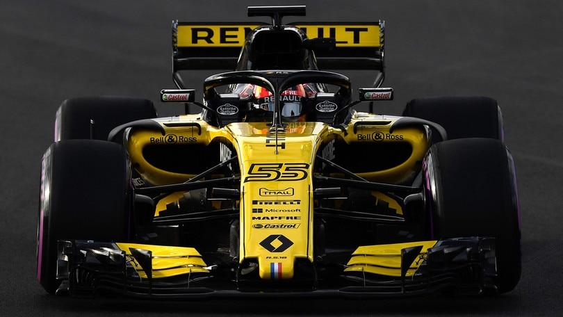 F1 Renault, Sainz: «Obiettivo quarto posto»
