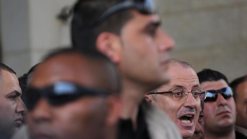 Premier palestinese lascia Striscia Gaza