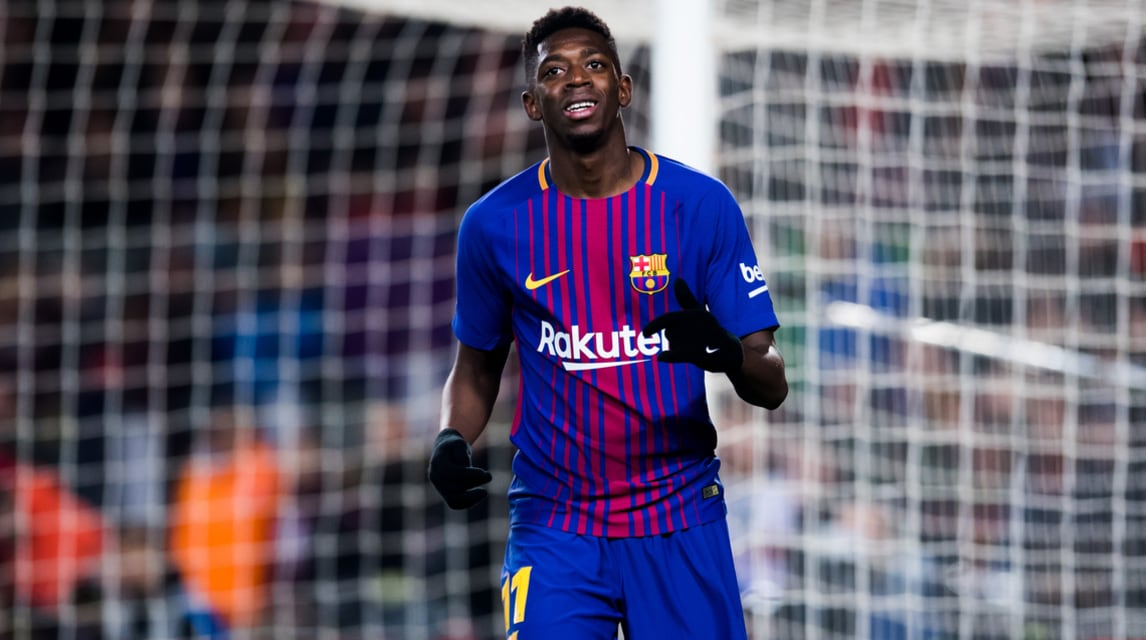 <address>1 - Ousmane Demb&eacute;l&eacute; (FC Barcellona) da 138 a 80 milioni di euro (-57,3)<br />&nbsp;