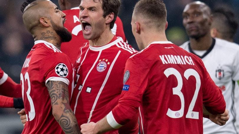Champions League, Bayern tutto facile