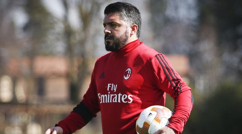 Europa League Milan, i convocati di Gattuso per l'Arsenal