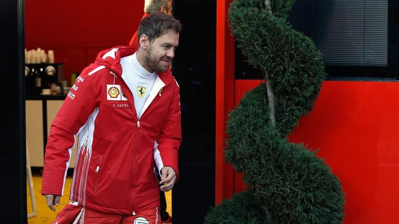 F1 Ferrari, Vettel: «La F71H è una buona base da cui partire»
