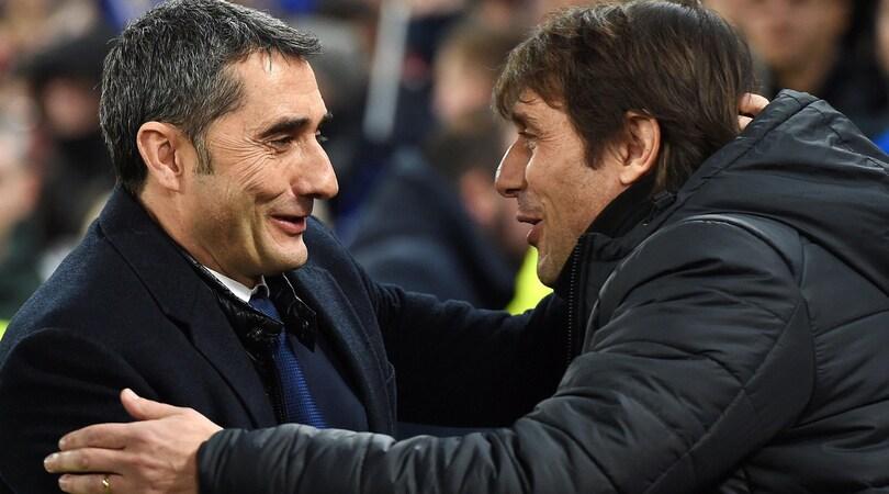 Barcellona, Valverde: «Conte? Non lo guardo»