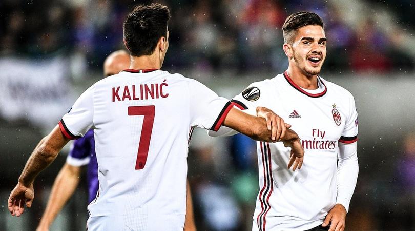 Milan, ballottaggio Kalinic-Andrè Silva per la sfida con l'Arsenal