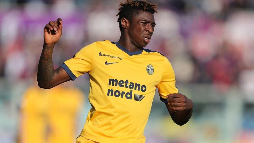 Serie A Verona, stop per Kean: lesione alll'adduttore
