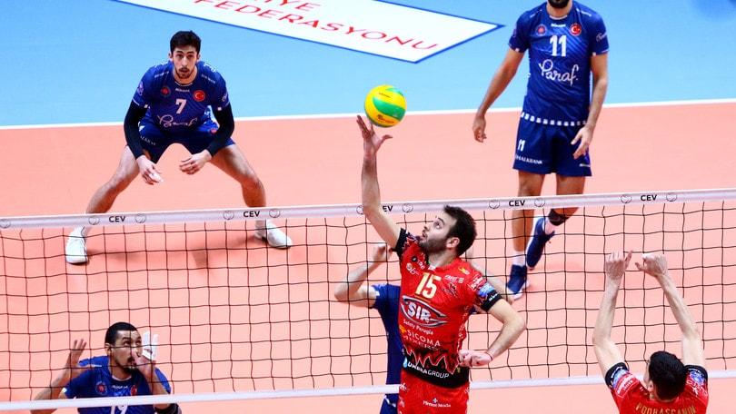 Volley: Champions League, straordinaria Perugia ! espugnato il campo dell' HalkBank