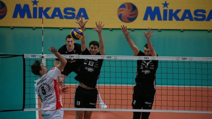 Volley: Cev Cup, Antonov spegne i sogni di Verona