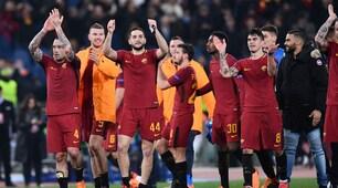 Che festa all'Olimpico: la Roma accede ai quarti dopo 10 anni