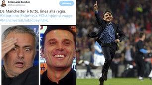 Il Siviglia di Montella fa fuori Mourinho e il web si scatena