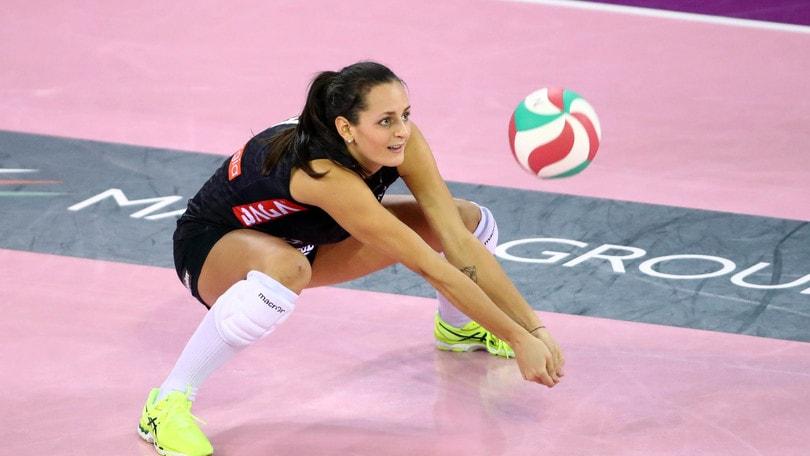 Volley: A1 Femminile, per Caterina Bosetti lesione ai legamenti del ginocchio