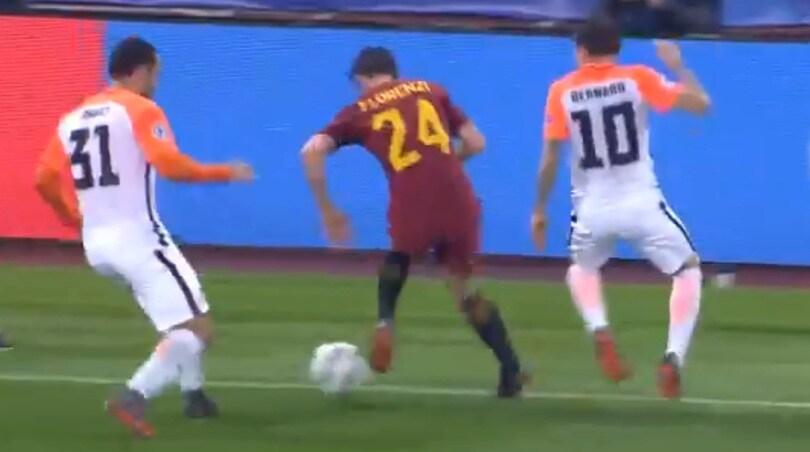 Roma, l'Uefa celebra la giocata di Florenzi