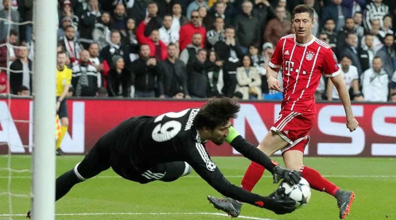 Champions League, Besiktas-Bayern Monaco 1-3: tedeschi ai quarti di finale