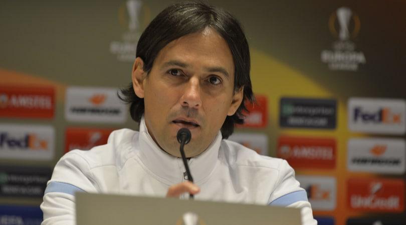 Lazio, Inzaghi: «Bella l'Europa League, non c'è il VAR»