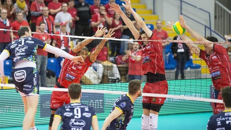 Volley: Champions League, Trento cede allo Chaumont ma solo al quinto