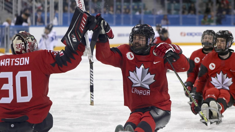Paralimpiadi: Canada in finale di ice hockey