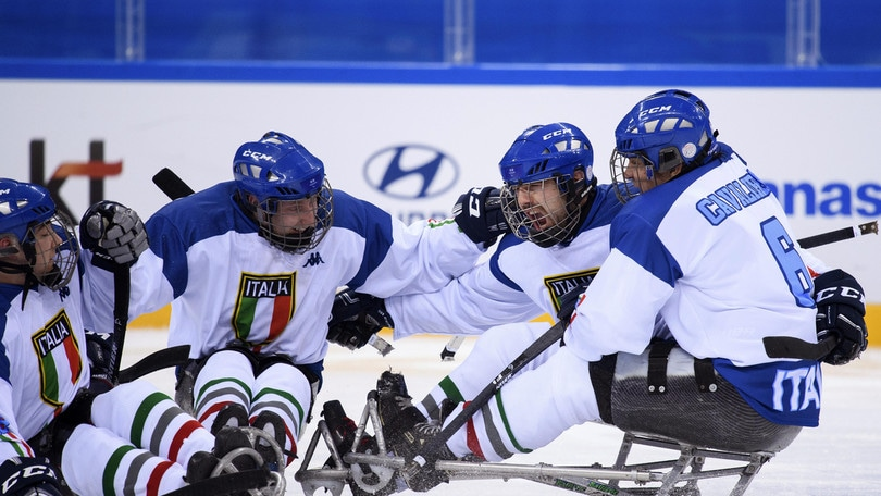 Paralimpiadi, ice hockey: Italia battuta in semifinale