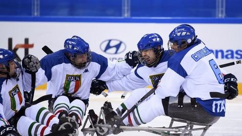 Paralimpiadi, ice hockey: Italia battuta in semifinale