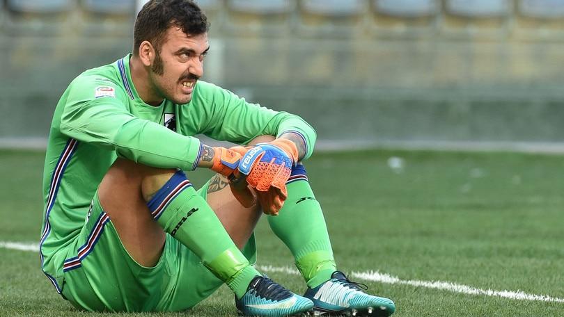 Serie A Sampdoria, Viviano a parte: mal di schiena