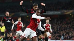 L'Arsenal pareggia su rigore... e il Milan si infuria